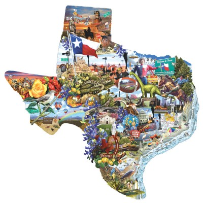 Puzzle Lori Schory - Welcome to Texas!