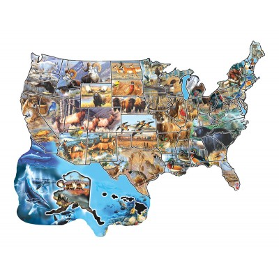 Puzzle Cynthie Fisher - Wild America Sunsout-96041 600 Teile Puzzle ...