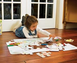 Puzzle Riesen Boden-Puzzle