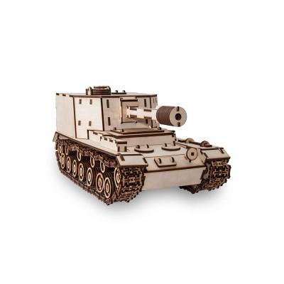 Eco-Wood-Art-06 3D Holzpuzzle - Tank SAU212