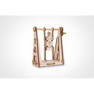 Eco-Wood-Art-34 3D Holzpuzzle - Sportler