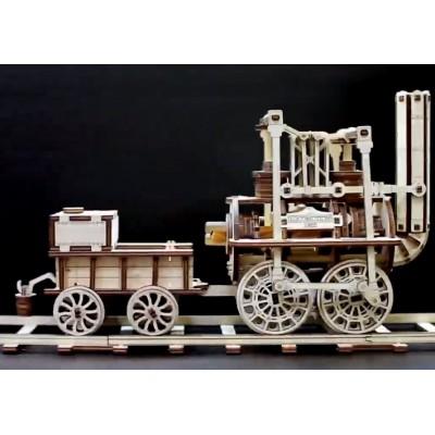 Eco-Wood-Art-42 3D Holzpuzzle - Locomotion