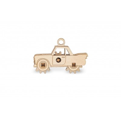 Eco-Wood-Art-51 3D Holzpuzzle -  Auto
