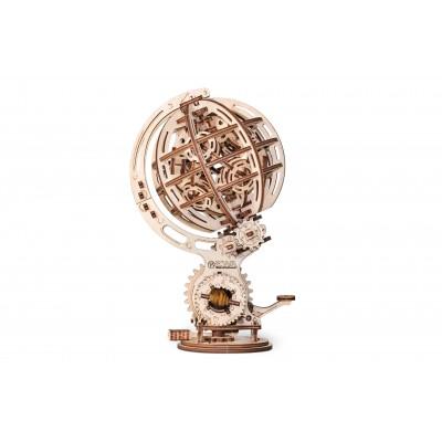 Eco-Wood-Art-72 3D Holzpuzzle - Kinetic Globe