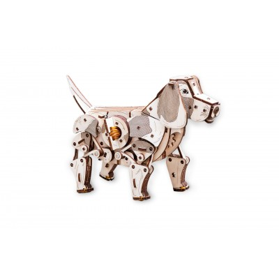 Eco-Wood-Art-73 3D Wooden Puzzle - Puppy