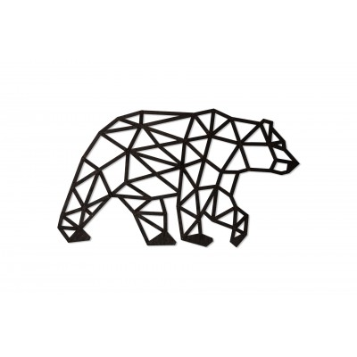 Eco-Wood-Art-74 Wooden Puzzle - Bear