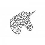 Eco-Wood-Art-85 Wooden Puzzle - Unicorn