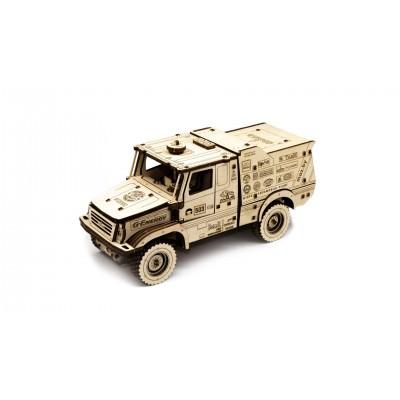 Eco-Wood-Art-96 3D Wooden Puzzle - MAZ 6440RR