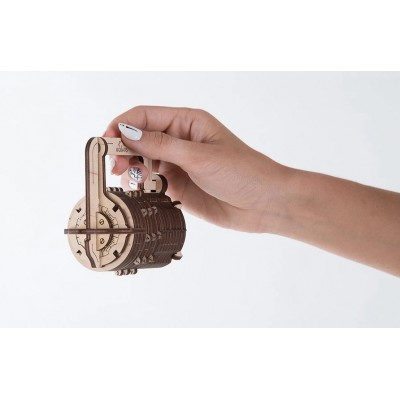 Ugears-12029 3D Holzpuzzle - Combination Lock