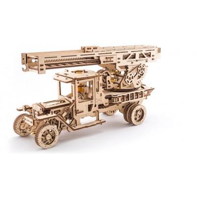Ugears-12031 3D Holzpuzzle - Fire Ladder