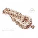 Ugears-12064 3D Holzpuzzle - Hurdy-Gurdy