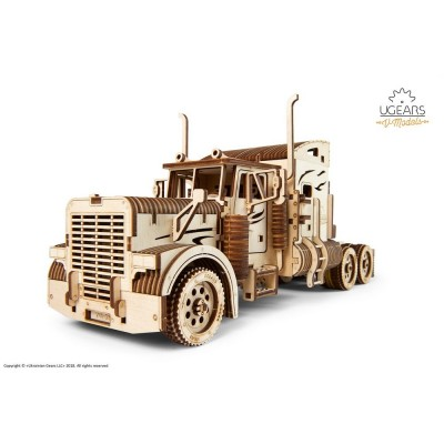 Ugears-12086 3D Holzpuzzle - Heavy Boy Truck VM-03
