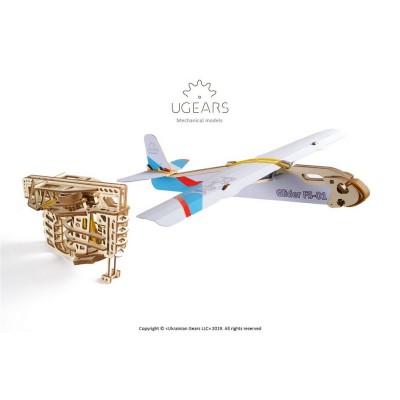 Ugears-12097 3D Holzpuzzle - Flight Starter