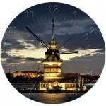 Art-Puzzle-4137 Puzzle-Uhr - Leandertum, Türkei