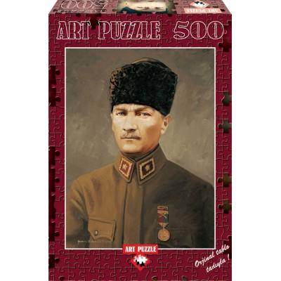 Puzzle Art-Puzzle-4158 Ghazi Mustafa Kemal Atatürk
