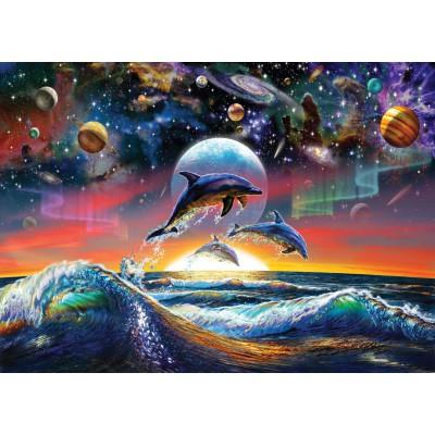 Puzzle  Art-Puzzle-4162 Universal Dolphins
