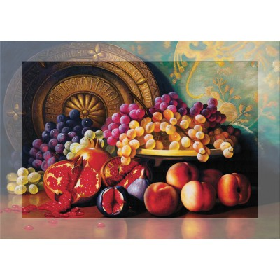 Art-Puzzle-4192 Duftpuzzle - Fruchtkorb
