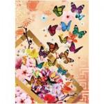 Puzzle  Art-Puzzle-4200 Schmetterlinge