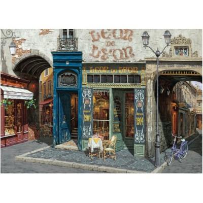 Puzzle  Art-Puzzle-4203 Cafe Leon