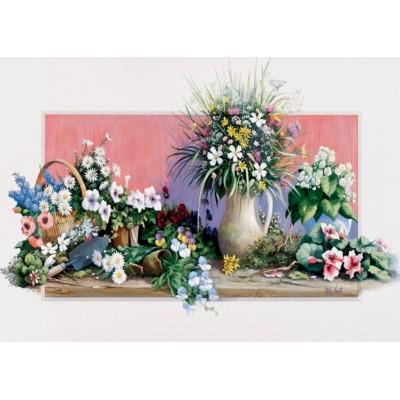 Puzzle Art-Puzzle-4208 Frühlingsblumen