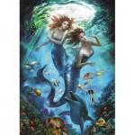 Puzzle  Art-Puzzle-4209 Meerjungfrauen