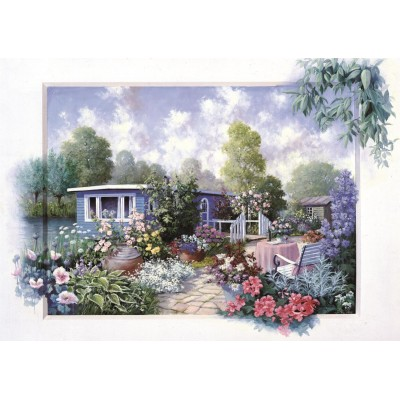 Puzzle  Art-Puzzle-4211 Floral Garden