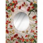 Art-Puzzle-4265 Puzzle-Spiegel - Blütenträume