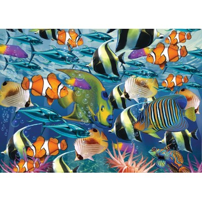 Puzzle  Art-Puzzle-4270 Multi Fish