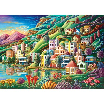 Puzzle  Art-Puzzle-4279 The Bay