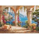 Puzzle  Art-Puzzle-4280 Traumterrasse