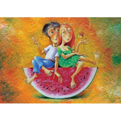 Puzzle  Art-Puzzle-4286 Summer