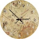 Art-Puzzle-4297 Puzzle-Uhr - Karte des Piri Reis