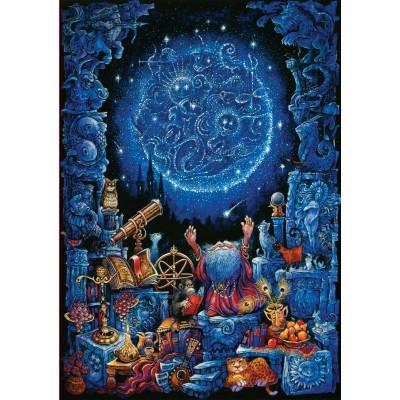 Art-Puzzle-4325 Neon-Puzzle - Astrologie