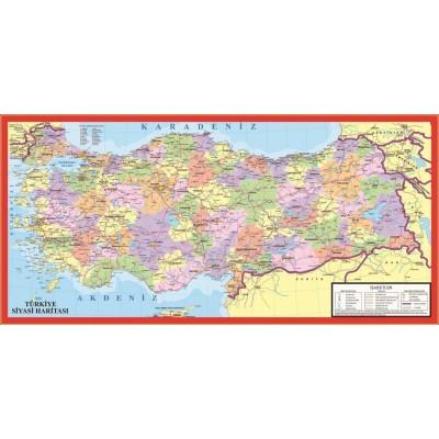 Puzzle  Art-Puzzle-4346 Die politische Landkarte der Türkei