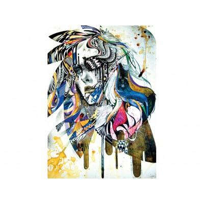 Puzzle Art-Puzzle-4348 Blues