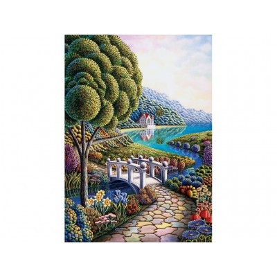 Puzzle  Art-Puzzle-4357 Flower Bay