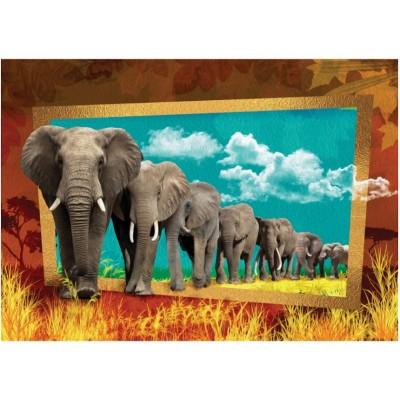 Puzzle Art-Puzzle-4373 Elefanten