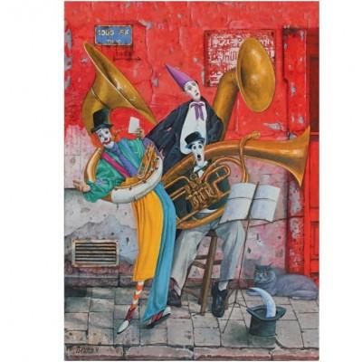 Puzzle Art-Puzzle-4378 Soul of Music