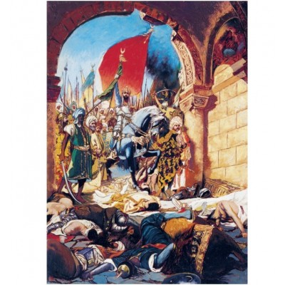Puzzle  Art-Puzzle-4385 Eroberung von Istanbul