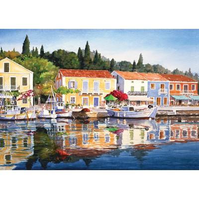 Puzzle  Art-Puzzle-4412 Greece: Fiscardo