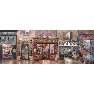 Puzzle  Art-Puzzle-4420 James Lee: Cafe Walk I