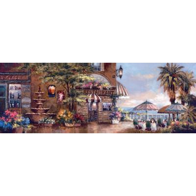 Puzzle Art-Puzzle-4421 James Lee: Cafe Walk II