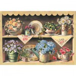 Art-Puzzle-4447 Holzpuzzle - Cupboard Garden