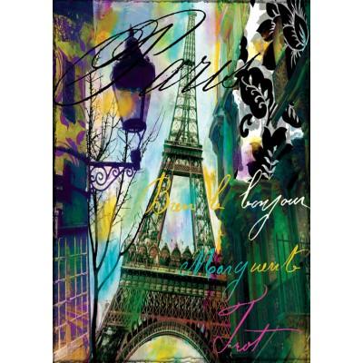 Puzzle Art-Puzzle-4459 Bonjour