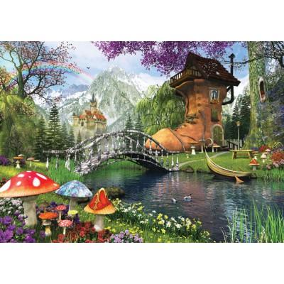 Puzzle  Art-Puzzle-4467 Dominic Davison: The Old Shoe House