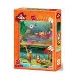 Art-Puzzle-4494 2 Puzzles - Wildlife