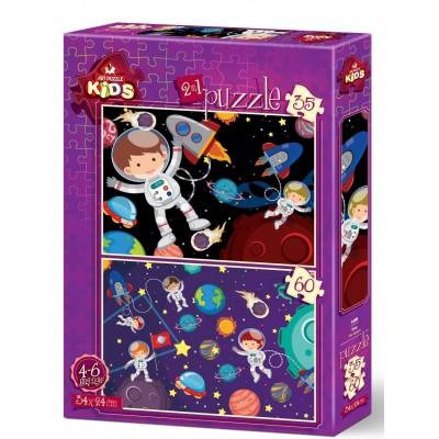 Art-Puzzle-4495 2 Puzzles - Raum