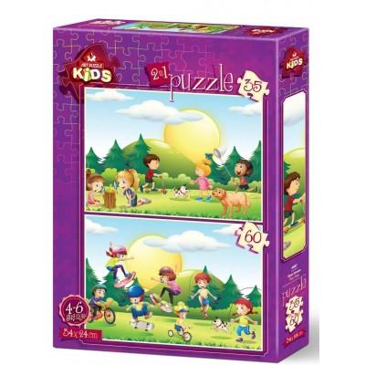 Art-Puzzle-4497 2 Puzzles - Kids