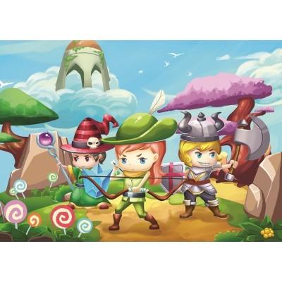 Puzzle Art-Puzzle-4501 XXL Teile - Little Hero