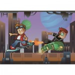 Puzzle  Art-Puzzle-4502 XXL Teile - The Skater Boys